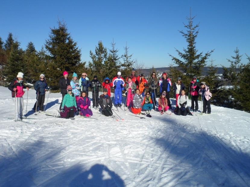 classe de neige college de Génolhac
